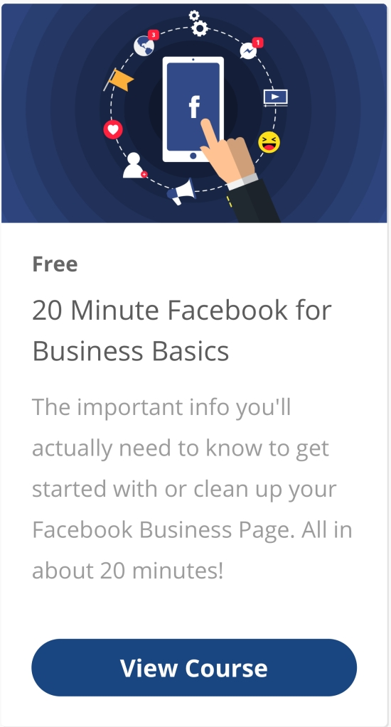 Free Facebook Business Class!