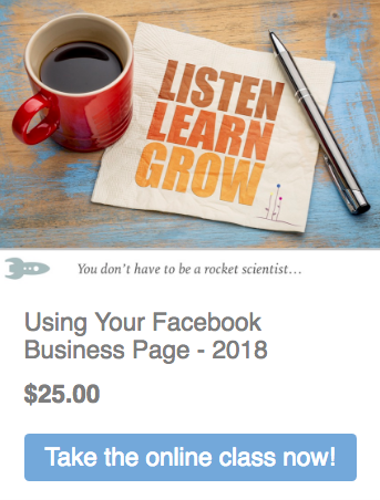 Using Your Facebook Business Page